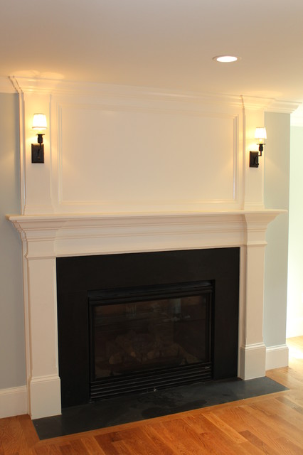 Traditional interior decorating ideas - Fireplace Mantles Traditional Bedroom Boston By Custom Home