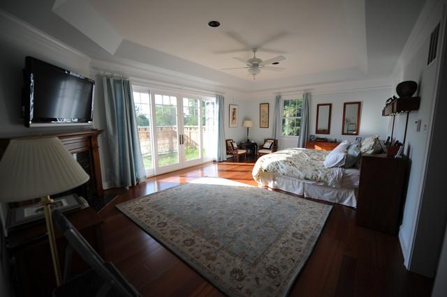 First-floor Master Bedroom eclectic-bedroom