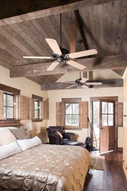 Fishing Ranch rustic-bedroom