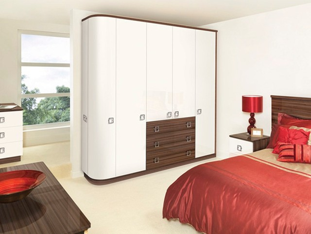 Fitted Bedroom Curved Fitted Wardrobe Ideas