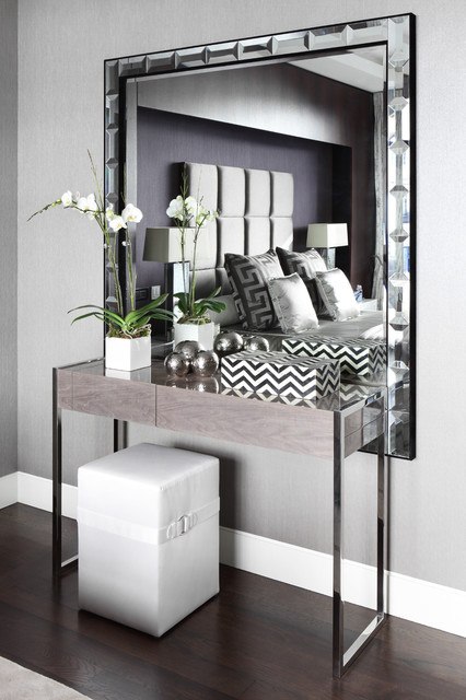 Modern Foyer Mirror : Fitzrovia apartment dressing table contemporary