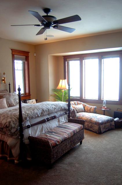 Five Mile custom home traditional-bedroom