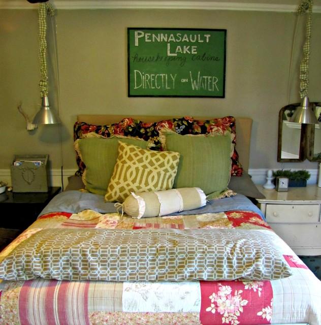 Houzz Marketing For Interior Designers: Flea Market Style Bedroom