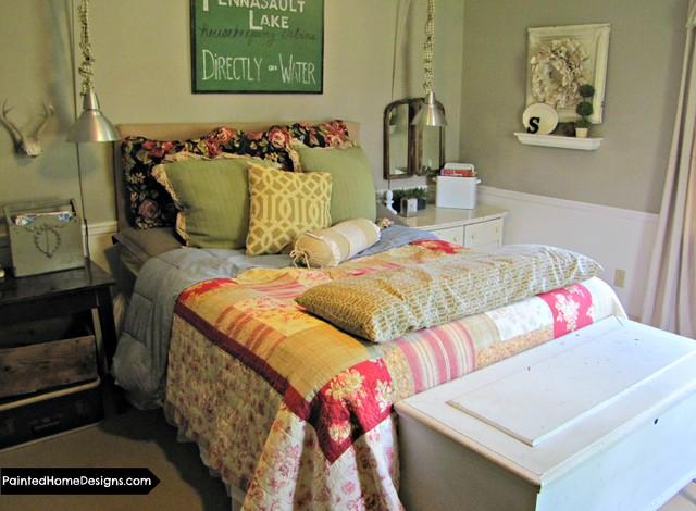 Flea Market Style Bedroom Eclectic Bedroom