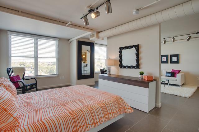 Flirty and Feminine contemporary-bedroom