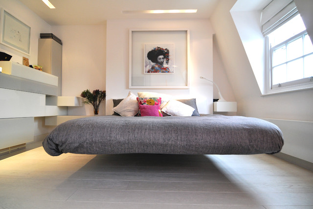 Floating away... contemporary-bedroom