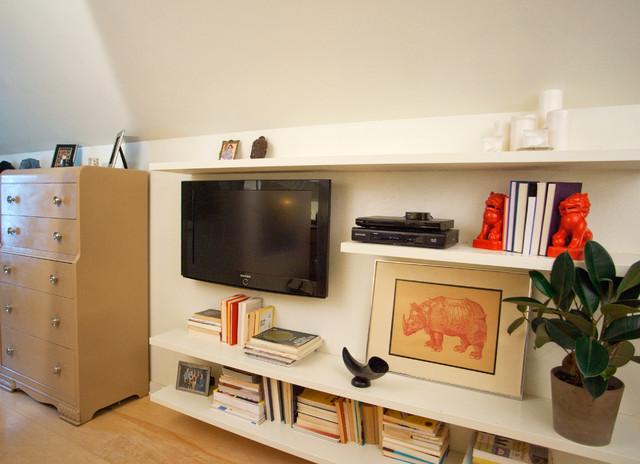 floating shelves eclectic bedroom minneapolis by. Black Bedroom Furniture Sets. Home Design Ideas