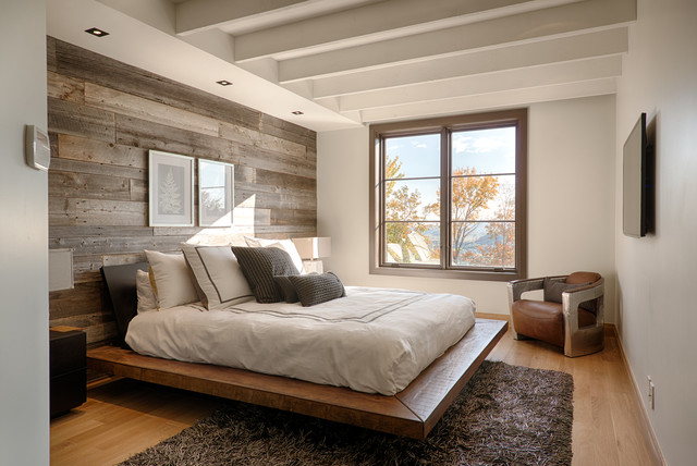 Bedroom inspiration with desk / work space by the window