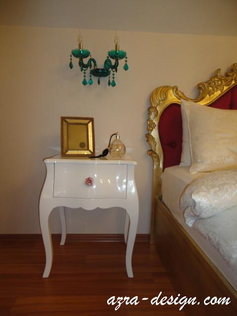 Florya Ev Dekorasyonu traditional-bedroom