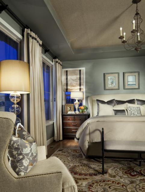 Flowerburst contemporary-bedroom