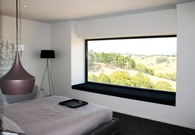 Flowerdale Project Contemporary Bedroom Melbourne