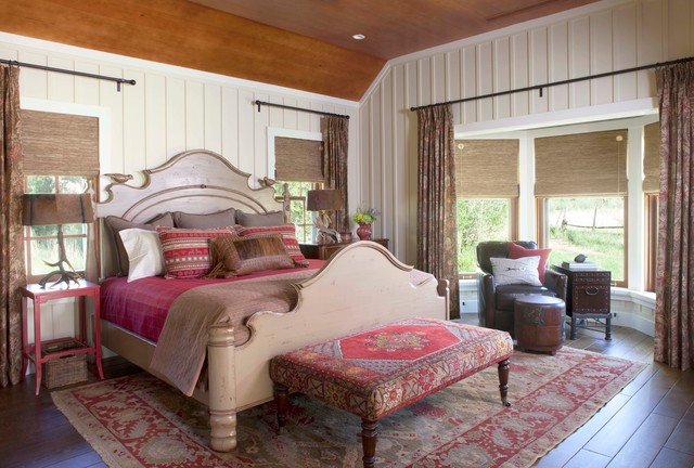 Fly Fishing Retreat traditional-bedroom