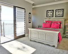 Flying Jib House eclectic-bedroom