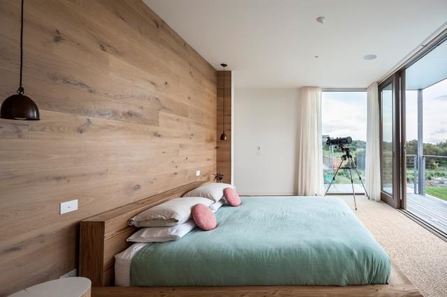 helle farben sind typisch fr das skandinavische design, Schlafzimmer