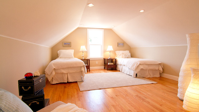 Folsom St Home Staging contemporary-bedroom