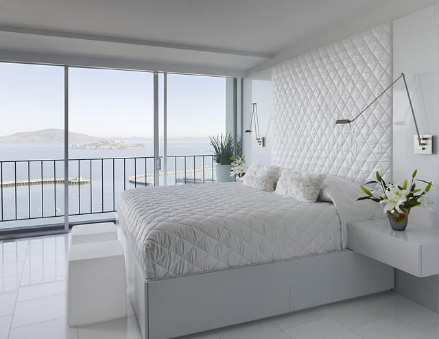 Interior White Bedroom Images fontana interior modern bedroom san francisco by mark bedroom
