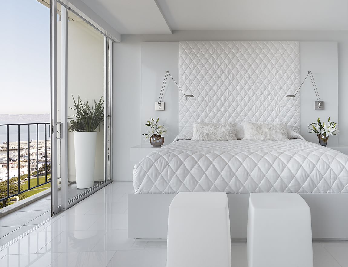 75 Beautiful White Marble Floor Bedroom Pictures Ideas December 2020 Houzz