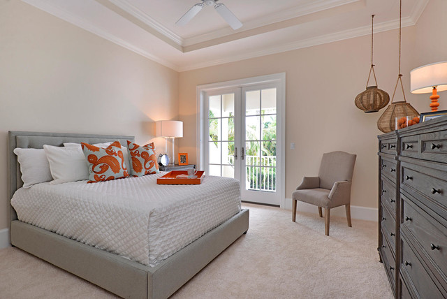 Foresite Homes in Olde Naples transitional-bedroom