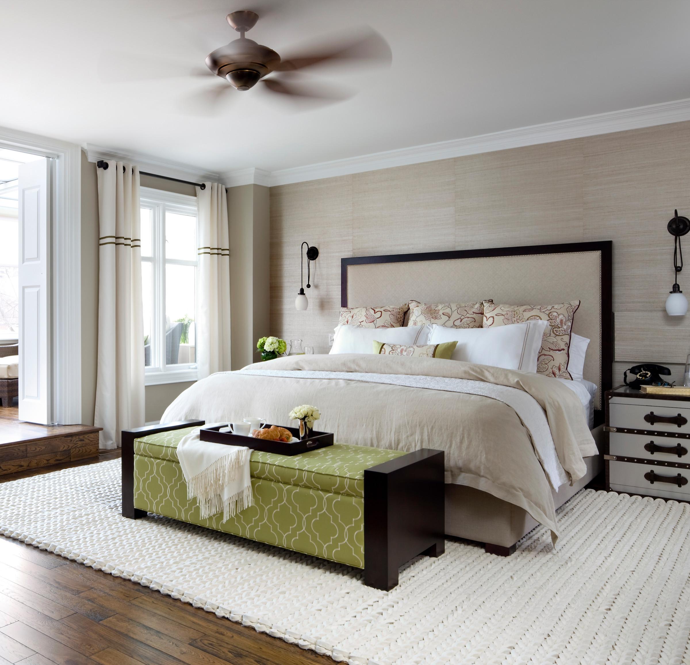 Linen Master Bedroom Houzz