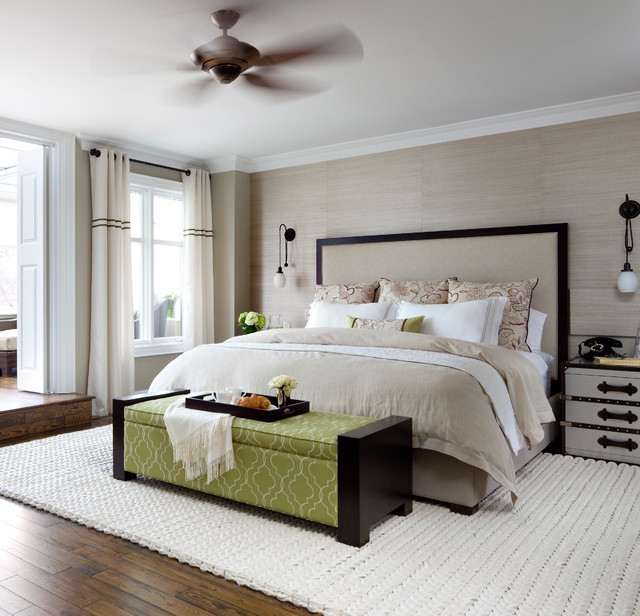 Forest Hill Master Bedroom Contemporary Bedroom