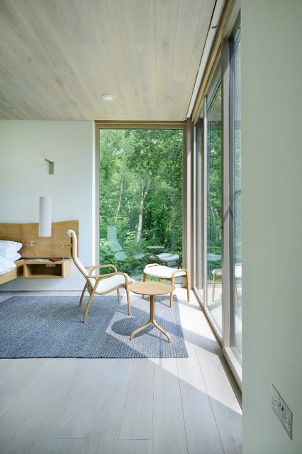 Forest lodge contemporary bedroom hampshire by pad for Pad studio forest lodge