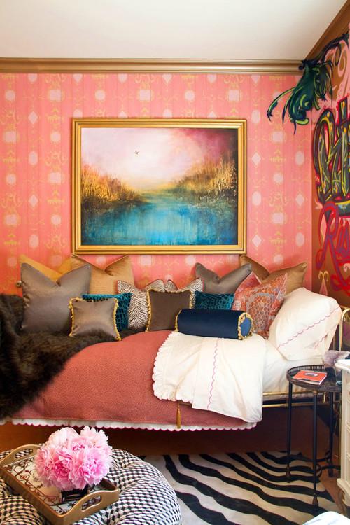 Form eclectic bedroom