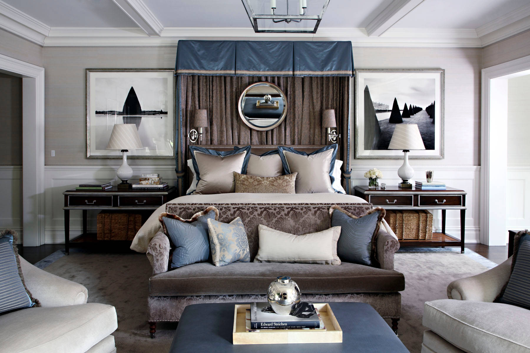 Brown And Gray Houzz, Gray And Brown Living Room