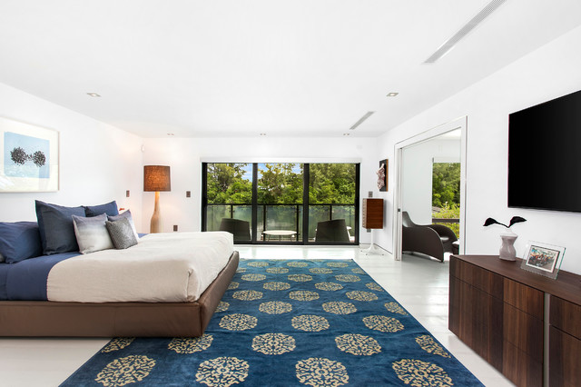 Fort Lauderdale Waterfront Modern Modern Bedroom Miami By In