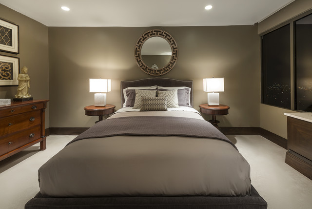 Fort Lee Penthouse Guest Bedroom