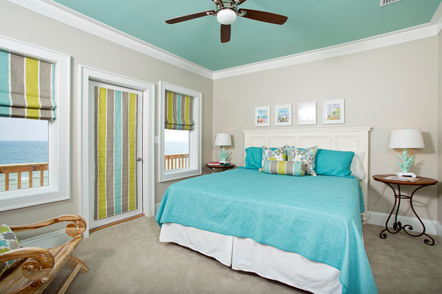 contemporary bedroom by greg riegler photography - Bedroom Ceiling Color Ideas