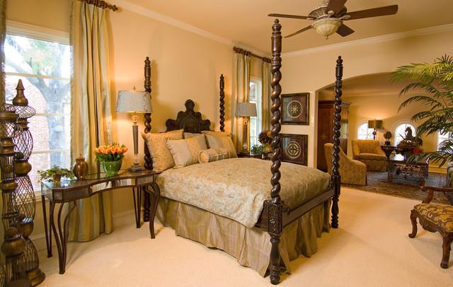 Ft. Worth, Texas Magazine Dream Home, Westover Hills mediterranean-bedroom
