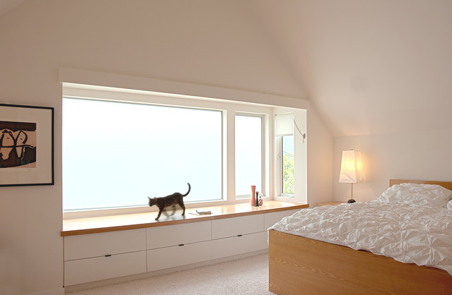 contemporary bedroom Fougeron Architecture