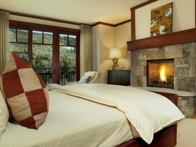 Four Seasons Master Bedroom contemporary-bedroom
