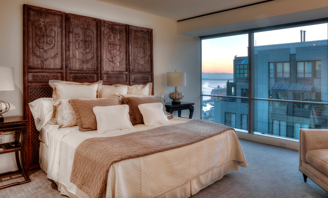 Four Seasons Residences contemporary-bedroom