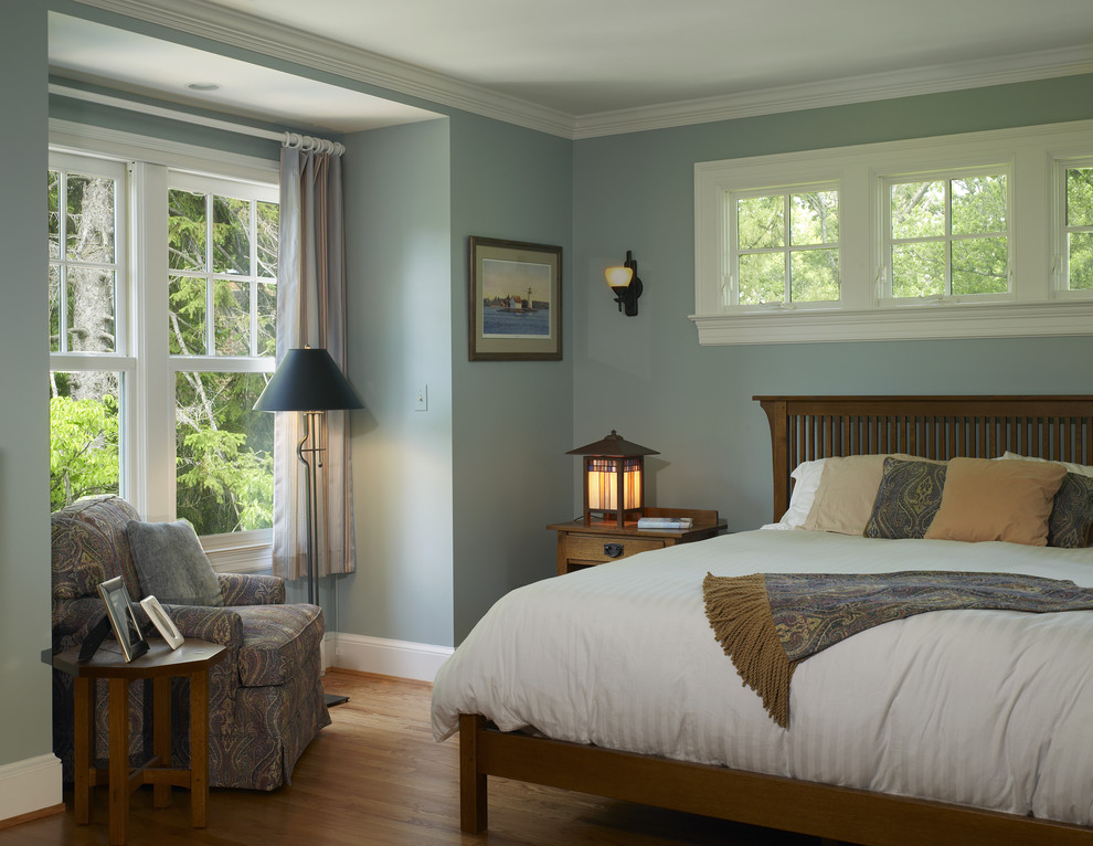 Inspiration for a timeless bedroom remodel in DC Metro