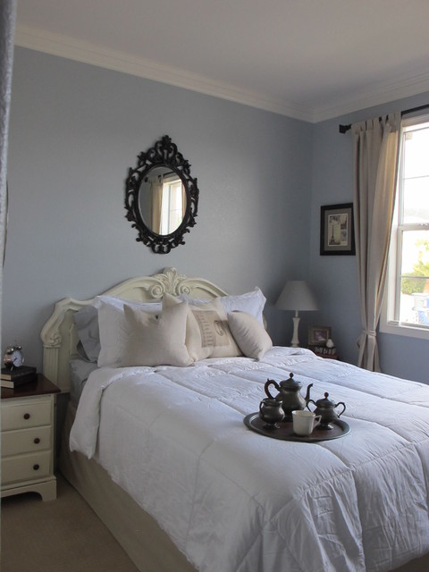 Frech inspired guestroom traditional-bedroom