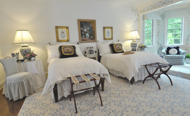French Chateau traditional-bedroom