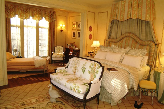 French chateau mediterranean bedroom miami by for International decor bed