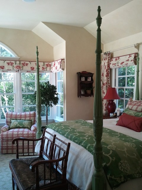 French Country Bedroom Traditional Bedroom Los Angeles By P D