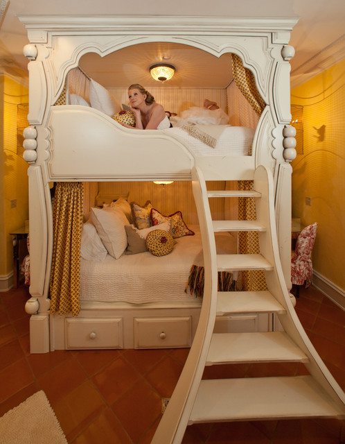 French Country Bunk Bed traditional bedroom. French Country Bunk Bed