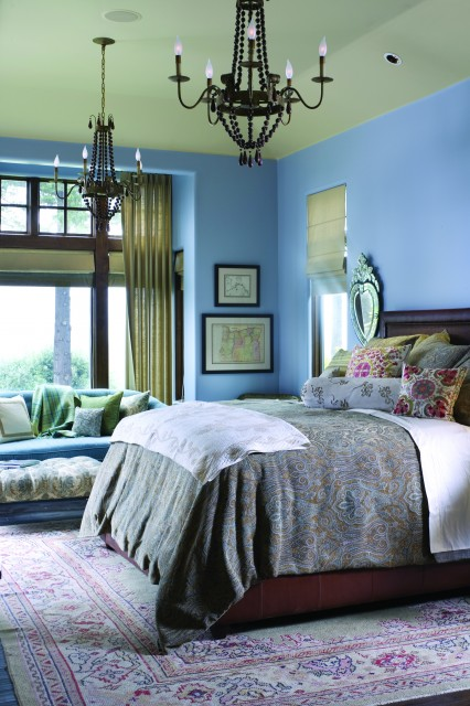 french country elegance traditional bedroom portland by alan mascord design associates inc. Black Bedroom Furniture Sets. Home Design Ideas