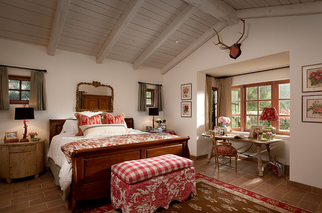 French Country Estate Mediterranean Bedroom Phoenix