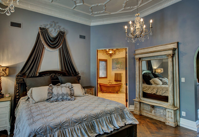 French Country Manor Mediterranean Bedroom Other