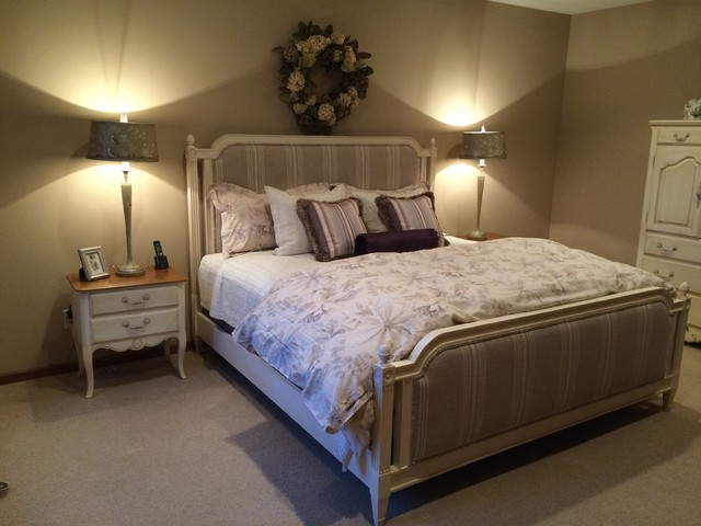 French Country Master Bedroom Traditional Bedroom
