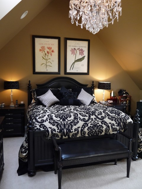 french country master bedroom renovation traditional
