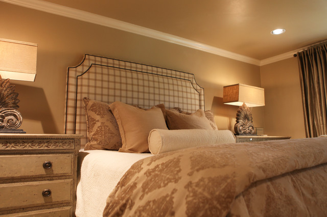 French Country Neutral Master Bedroom Transitional Other Metro By Katie Grace Designs