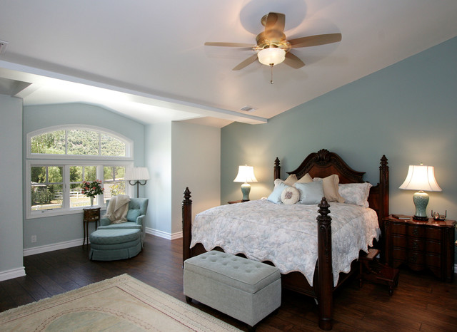 French Country Thousand Oaks Traditional Bedroom Los