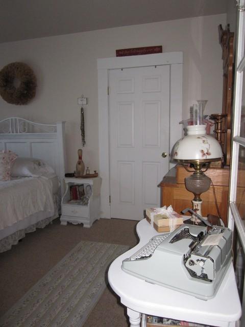 french hen eclectic-bedroom