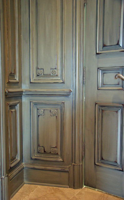 French Wall Covering : French paneling