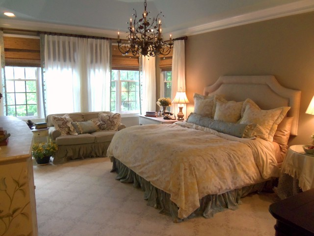 French Shabby Chic Master Bedroom
